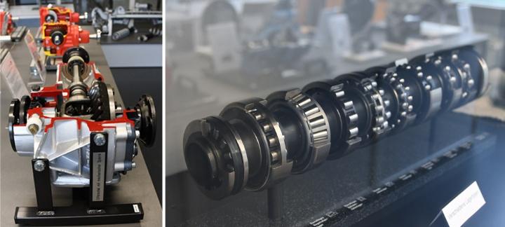 Exponate zu Maschinenbaugruppen und -elementen (c)