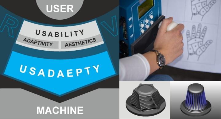 Forschungssymbiose aus einer adaptiv ästhetischen Usability realer und virtueller Interfacegestalten (c)