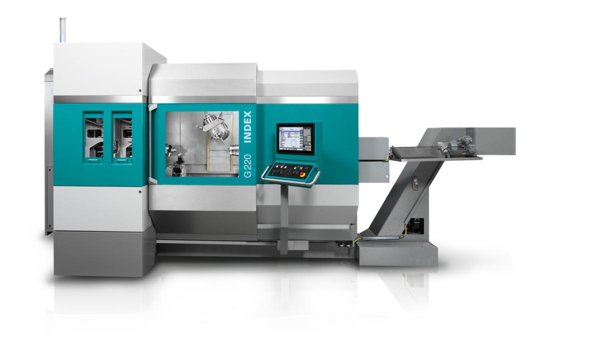 Werkzeugmaschinen Corporate Design für die Firma INDEX-Werke GmbH & Co. KG Hahn & Tessky (2014) (c) INDEX-Werke GmbH & Co. KG Hahn & Tessky